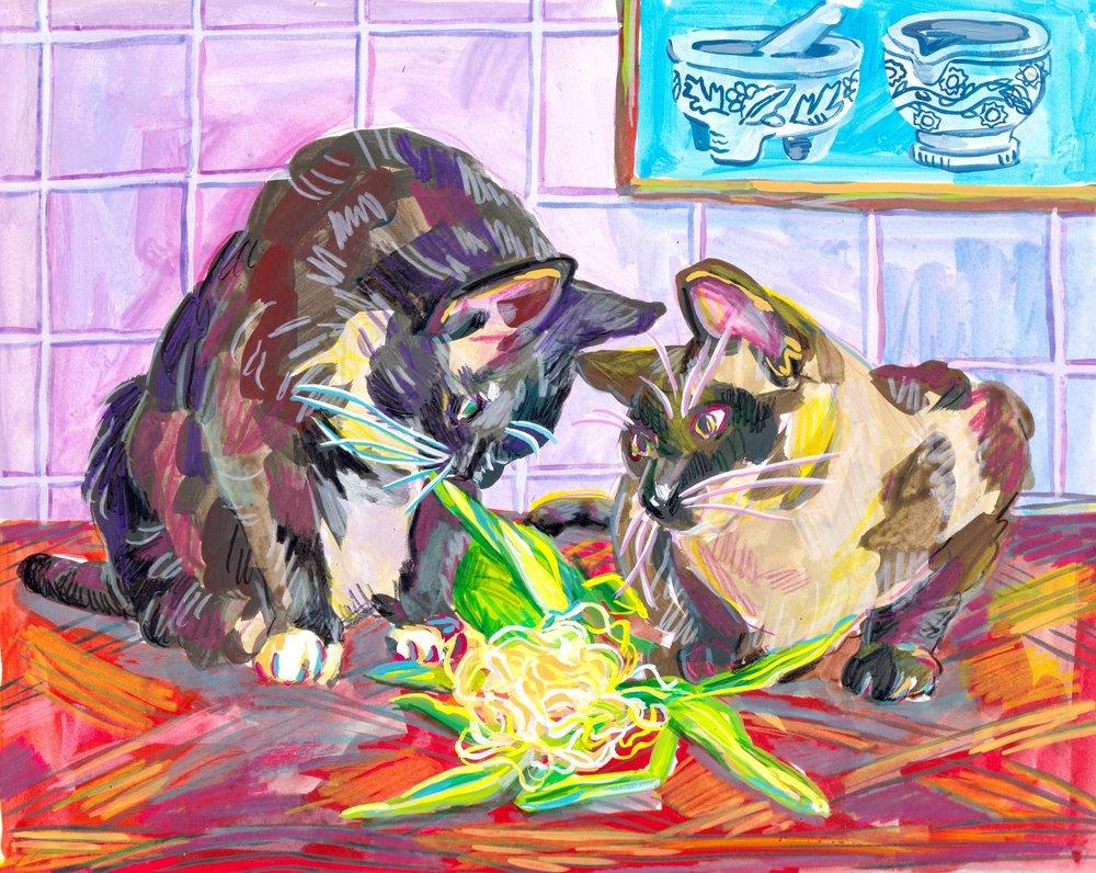 Chippy & Gato