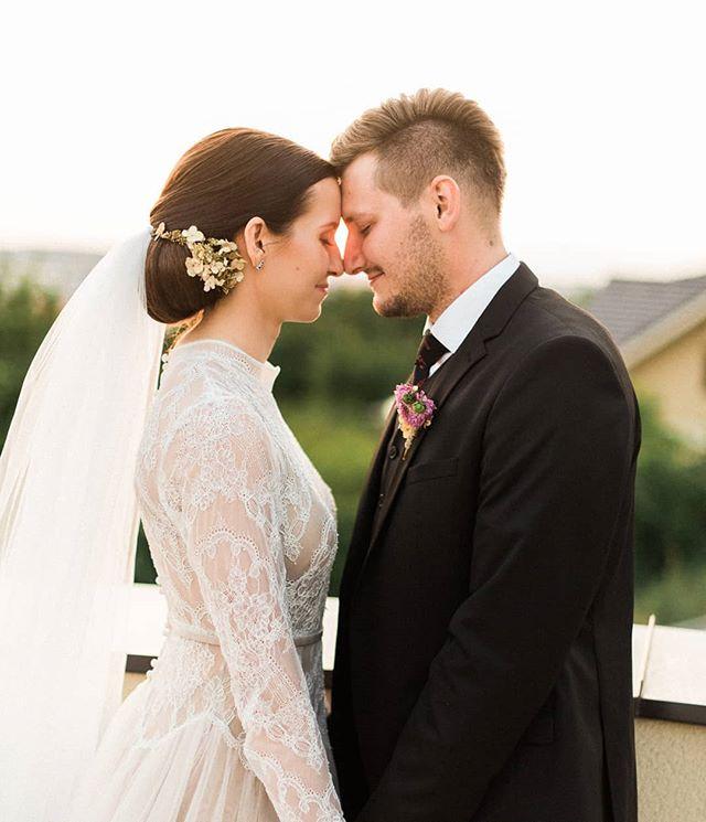 Krásni mladomanželia Tomáš a Kristína ❤ - - - #wedding #weddingphotography #weddingphotographer #stylemepretty #svadba #nitra #svadobnyfotograf #slovakia #junebugswedding #hotelklucik #moment #bride #dnesfotim #groom #happiness #sunset #love