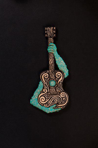 Musico Black Turquoise