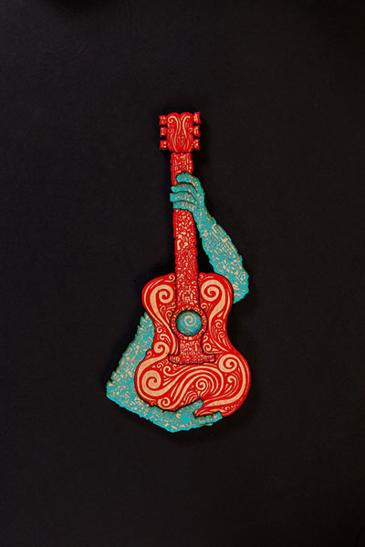 Musico Red Turquoise