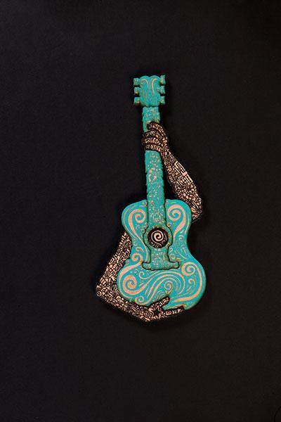 Musico Turquoise Black