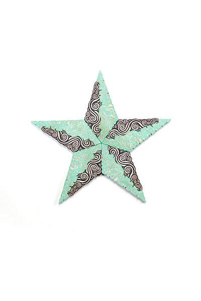 Estrella Black Turquoise