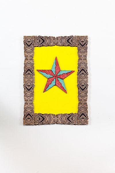 Estrella Loteria Yellow Turquoise Red