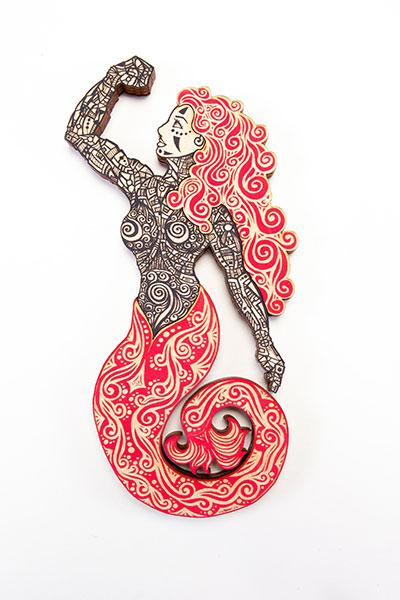Sirena Black Red