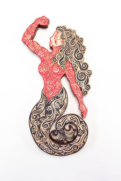 Sirena Red Black