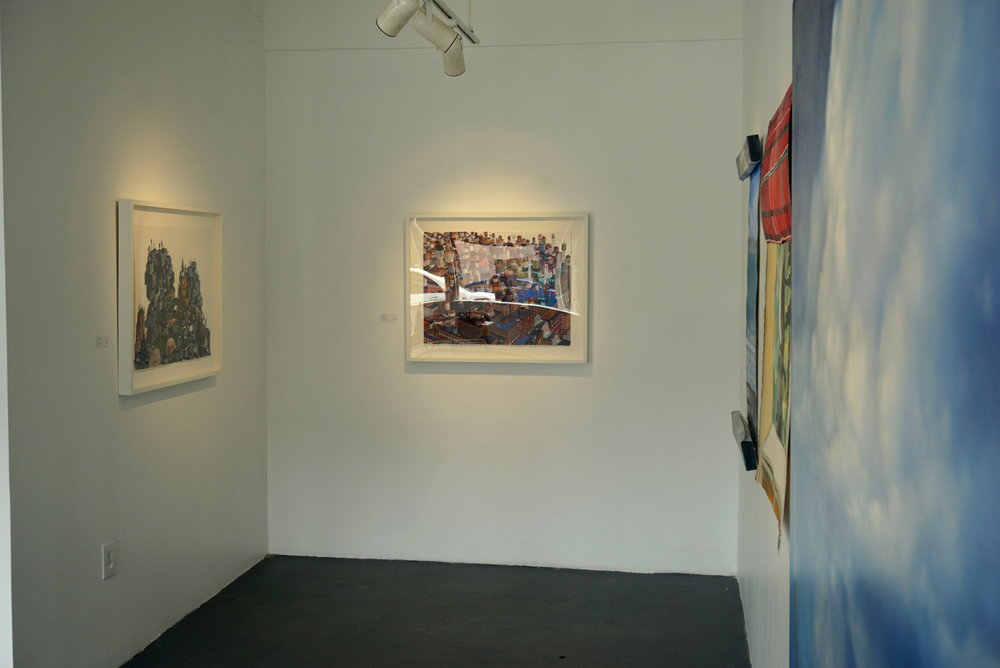 Works by Amy Casey and Betany Porter.