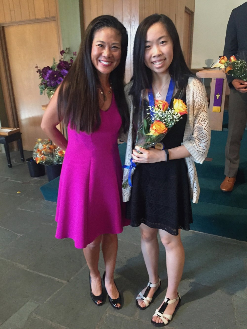 Michelle Lu, Winner of the Joanna hodges memorial award 2017 and student for 12 years at wenjen piano studios