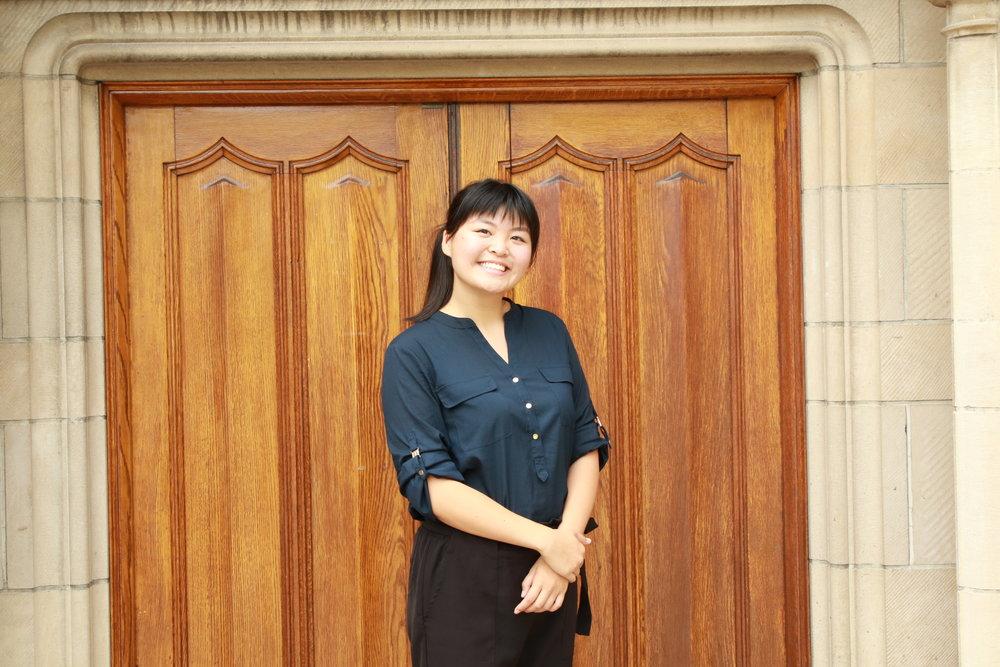Adele Zhang     Co-President