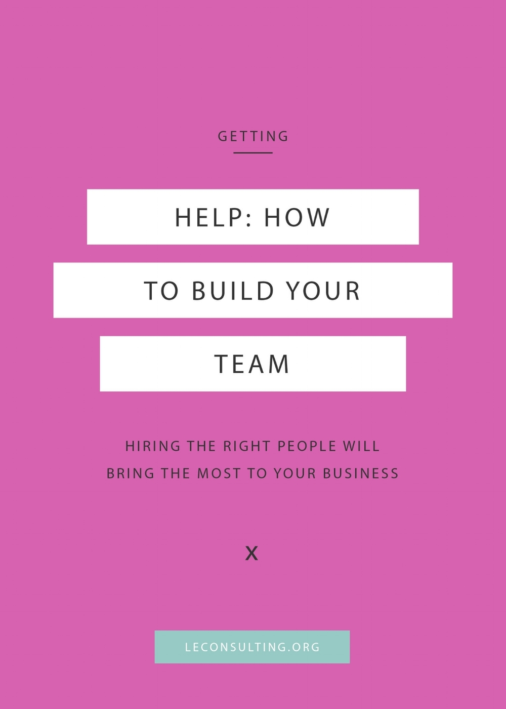 Taking your entrepreneurship to the next level by hiring a team, but not sure how to do about it the right way? We're laying out the steps for you right here. We're talking about who you should be hiring on to your team and how to do hire them — click through to read how. | LE Consulting