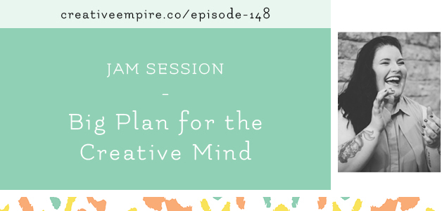 Had a blast joining  the Creative Empire Podcast !