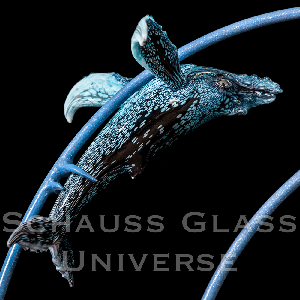 ©2015SchaussGlassblowingLLC WhaleFamW:Stand.baby3.jpg