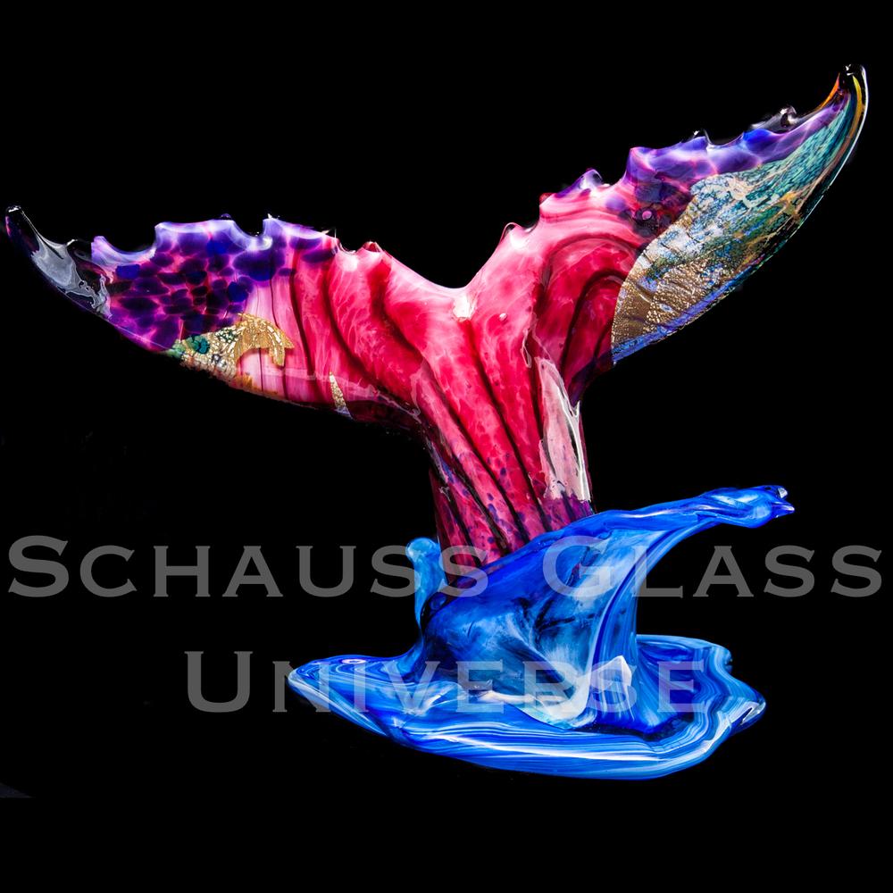 ©2015SchaussGlassblowingLLC WhaleTailSunsetColl1.jpg