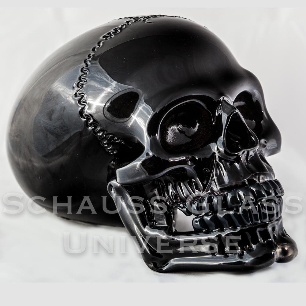 ©2015SchaussGlassblowingLLC SkullHumanBlack.1.jpg