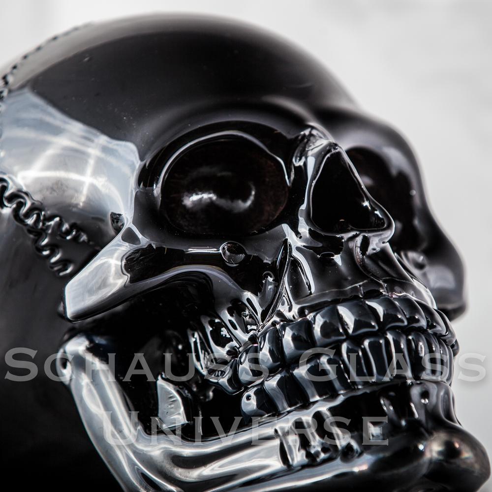 ©2015SchaussGlassblowingLLC SkullHumanBlack.2.jpg
