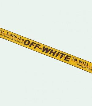 af1c24226c3 OFF-WHITE c o VIRGIL ABLOH™ - Yellow Industrial Belt (blondeallure.