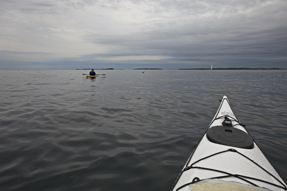 Sea Kayaking photography near Salem, Massachusetts