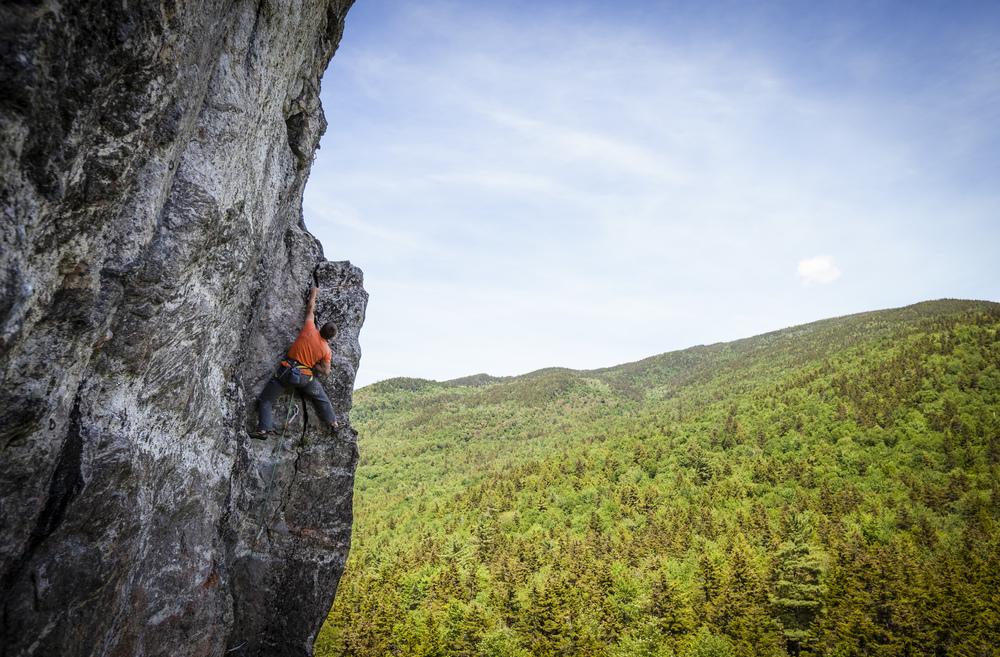 Wild River Crag Climber