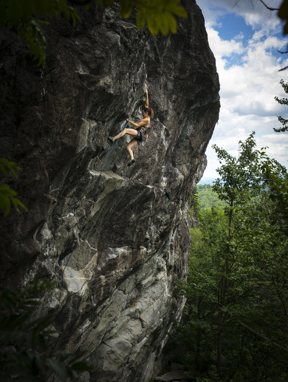 Jessica Pizzillo at Shag Crag