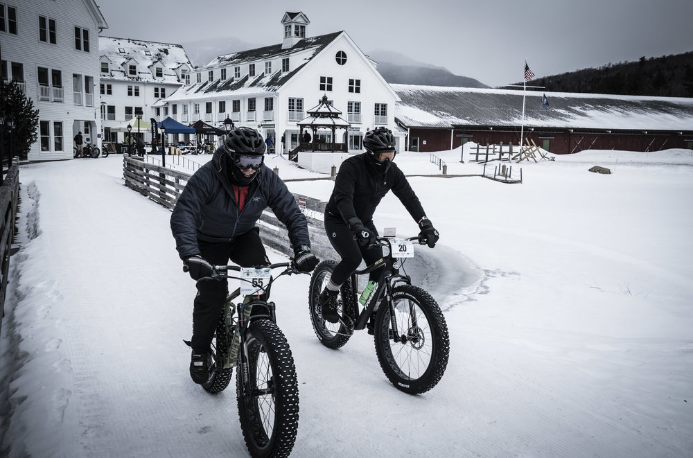 Fat Bikers at Waterville Valley