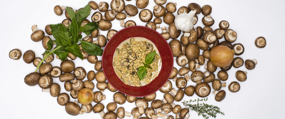 Good To-Go Mushroom Risotto