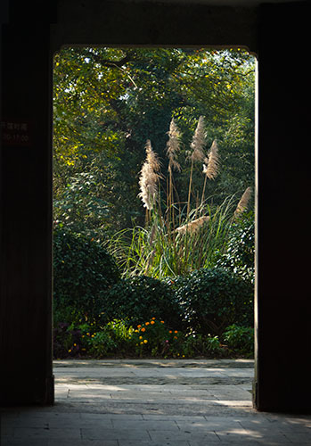 A Doorway in Hangzhou