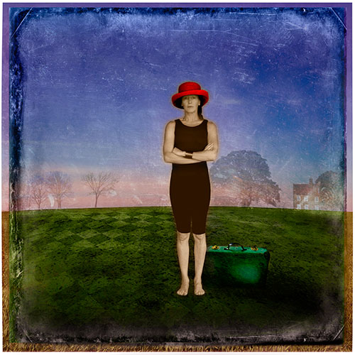 Red Hat with Suitcase