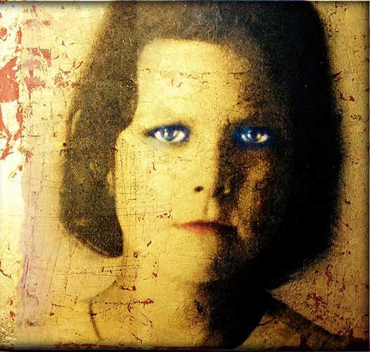 Ou aux yeux bleus, 12x12 avec cadre personnalisé
