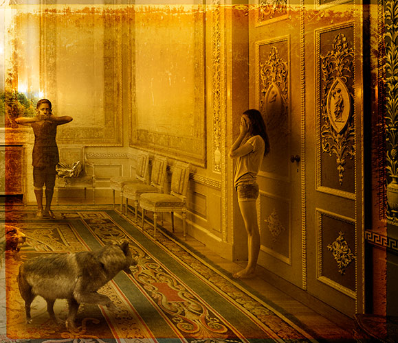 Wolf in the Parlor