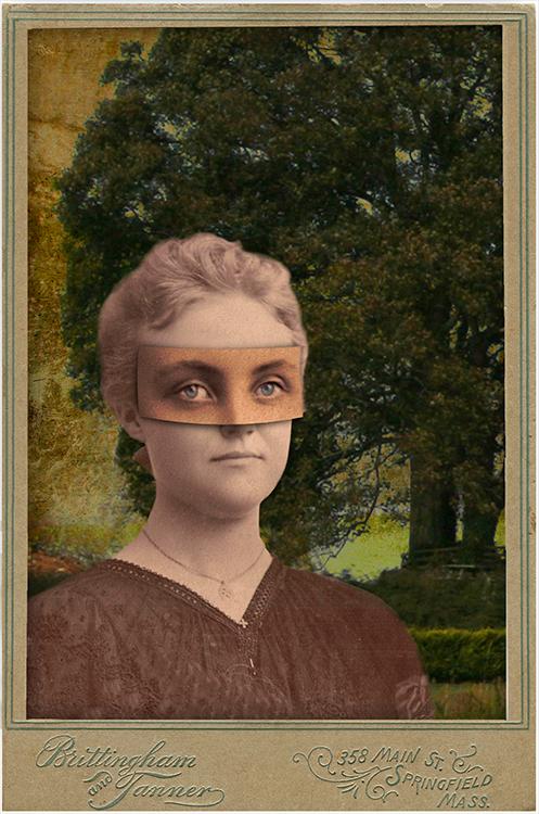 Masked woman in a Garden _Brittingham+Tanner.jpg