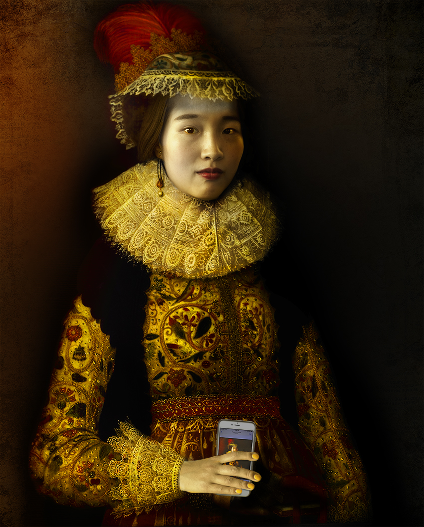 Asian woman with feather hat.jpg