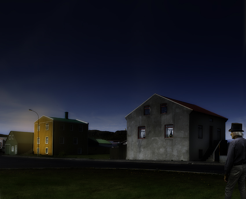 Three Houses in Iceland