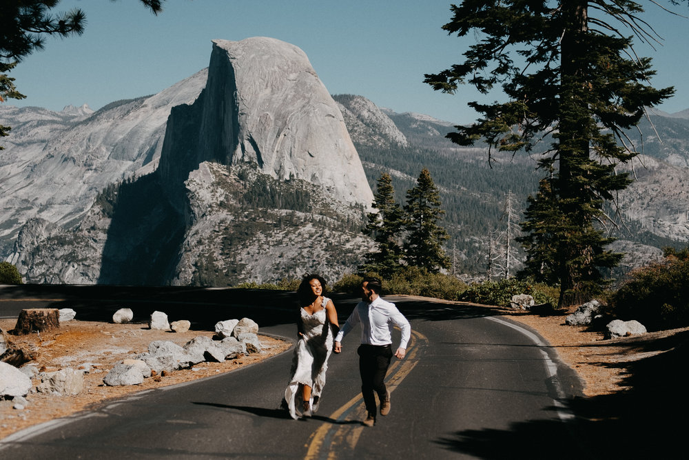 - There are so many ways to get married and each one is unique to you and how you want to do it. If you're eloping and skipping all the stress and headache of planning a big commercial wedding, you're doing it right.