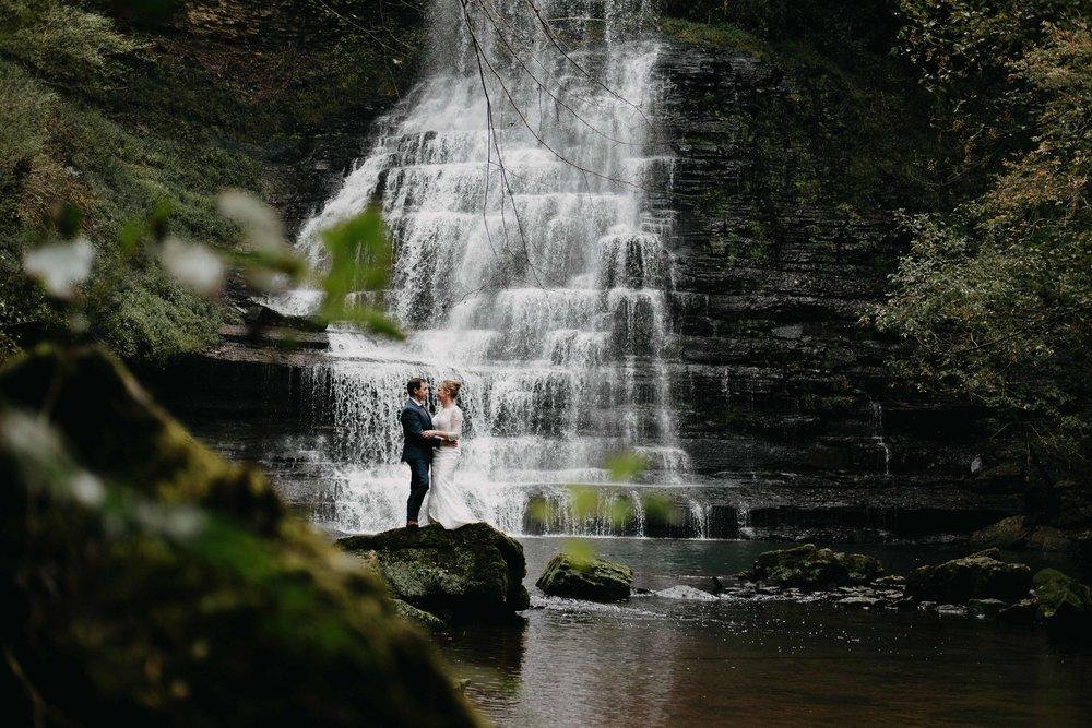 waterfall-elopement-photographer