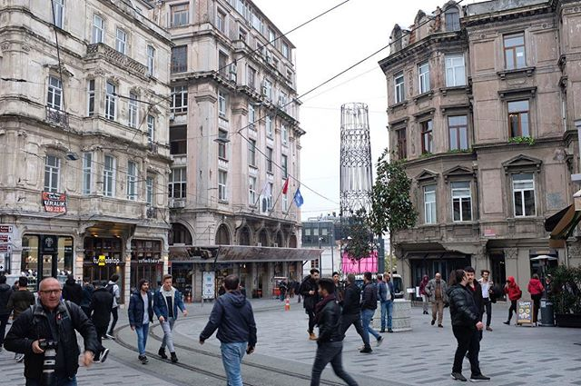 The Şişhane side of İstiklal Cad. will always be my favorite side.