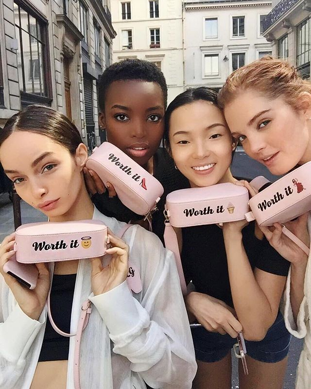 Beauty. Diversity. We're all worth it. Thank you @lorealskin, @chapuyc for a wonderful day on set. Shout out to the L'Oréal team. ❤️ @thelumagrothe, @jujujuxiaowen, @alexinagraham #loreal #lorealparis #lorealista #lorealfamily #worthit