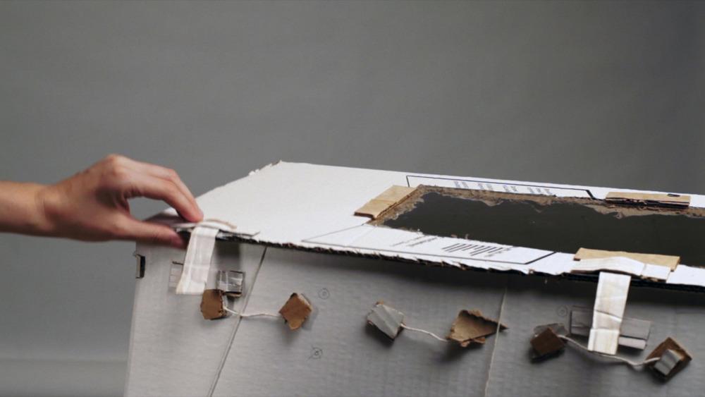 Video still,M-OSRISC, First Model Demonstration, 2014