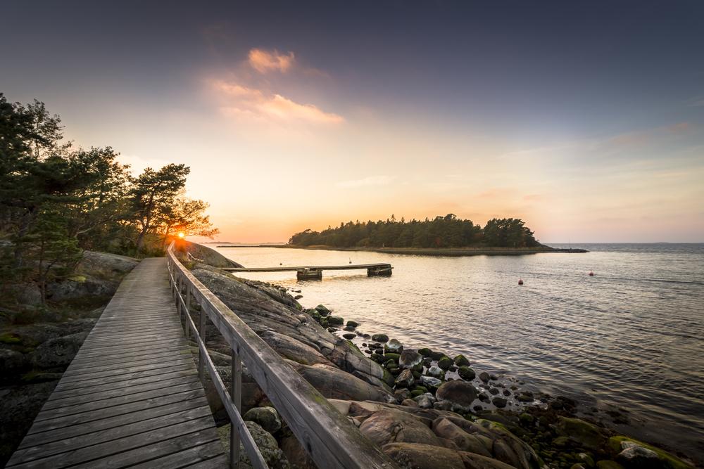 Sunset Pier – Hanko Finland