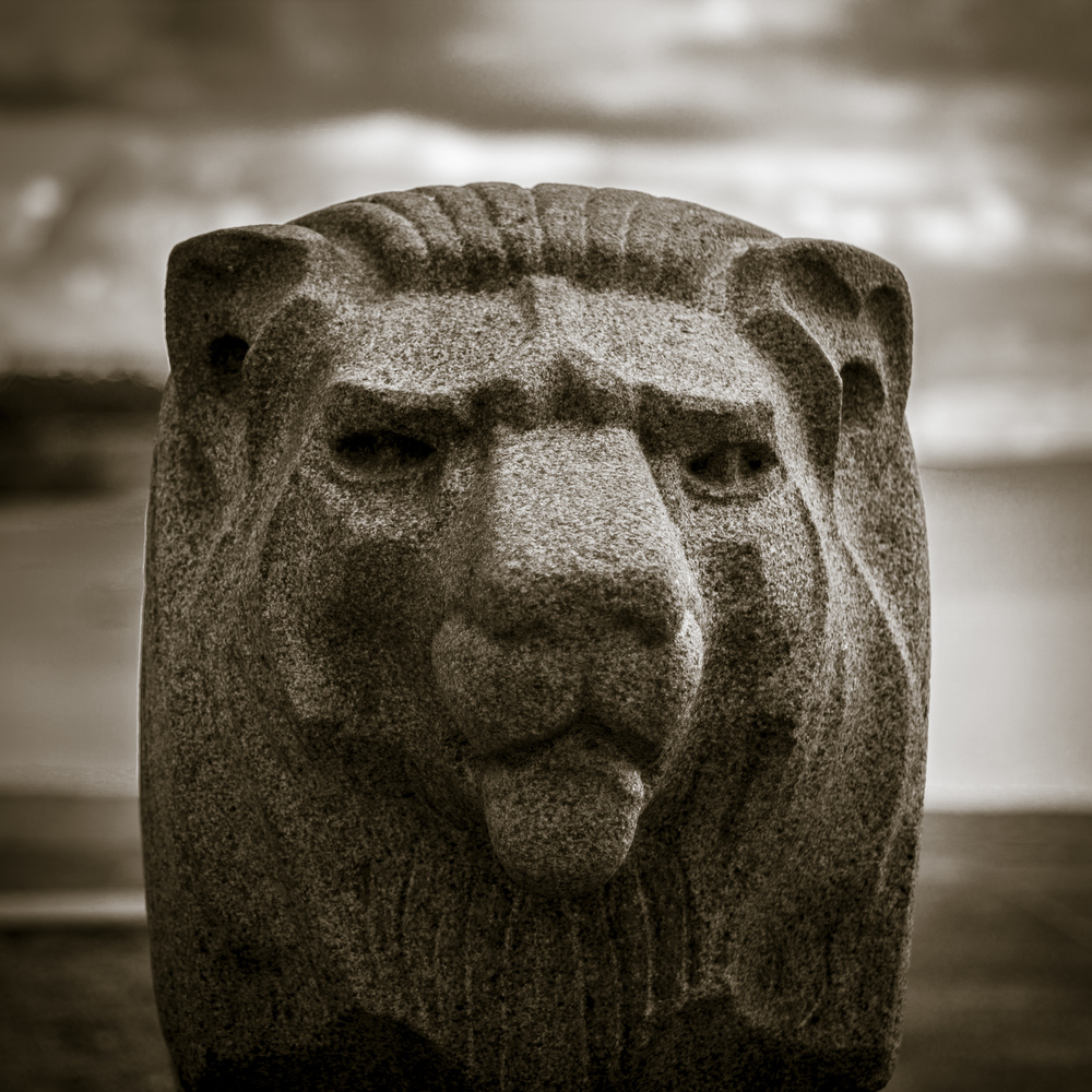 Freedom Monument Lion – Hanko Finland