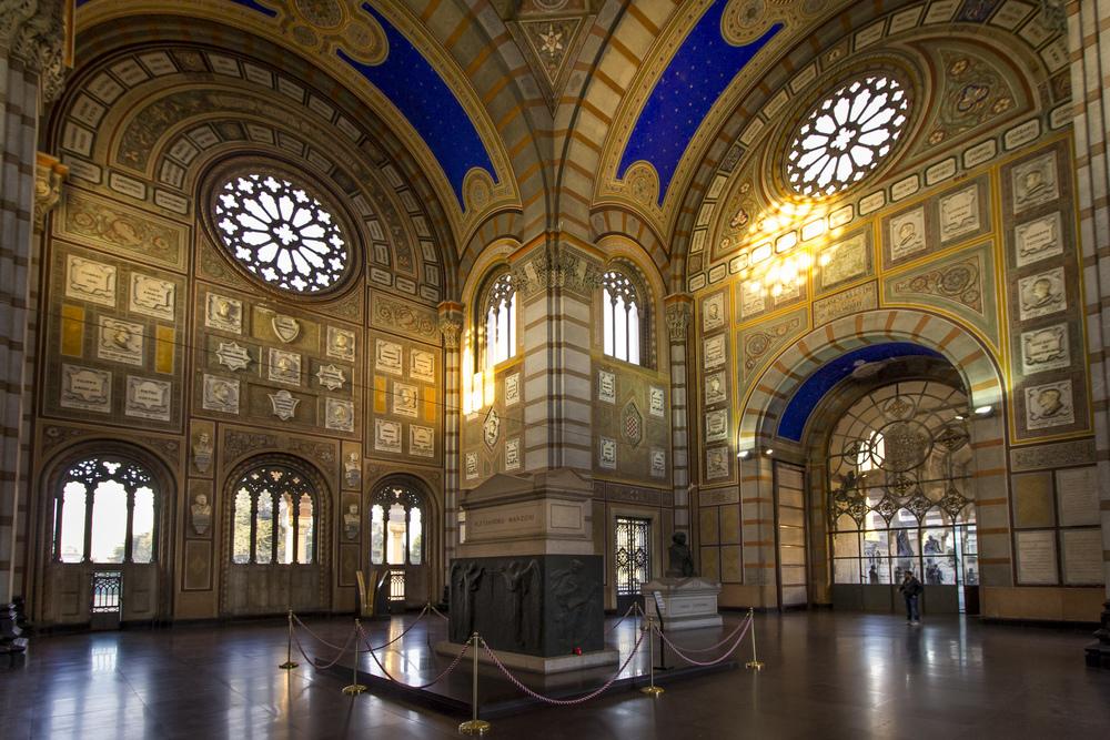 Alessandro Manzoni's Tomb