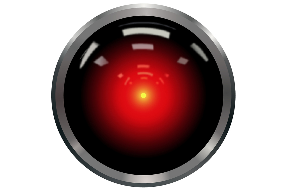 HAL 9000 by Cryteria.Licensed under CC BY 3.0.