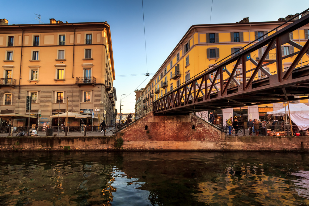 Navigli Iron Bridge