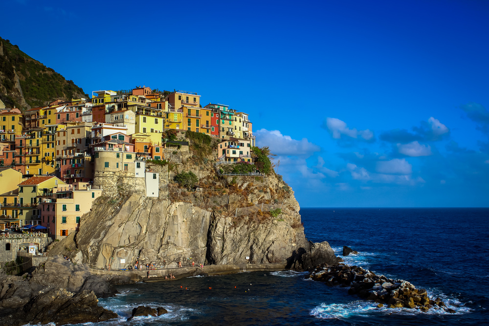 Manarola Postcard View