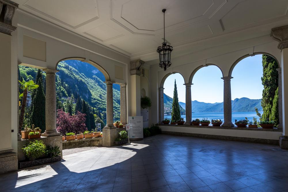 Entry to Giardino Botanico