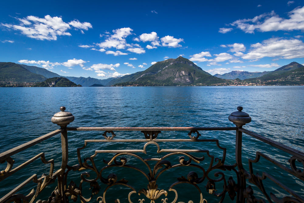 Balcony on Lake Como