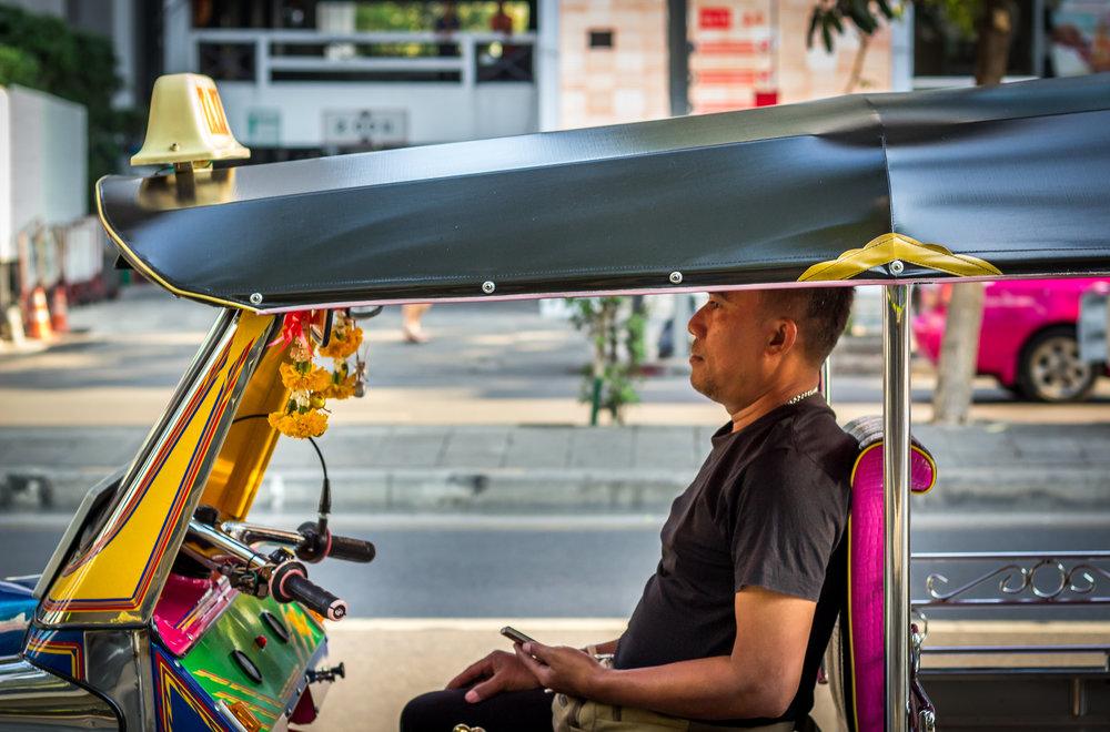 Tuk Tuk Taxi Driver