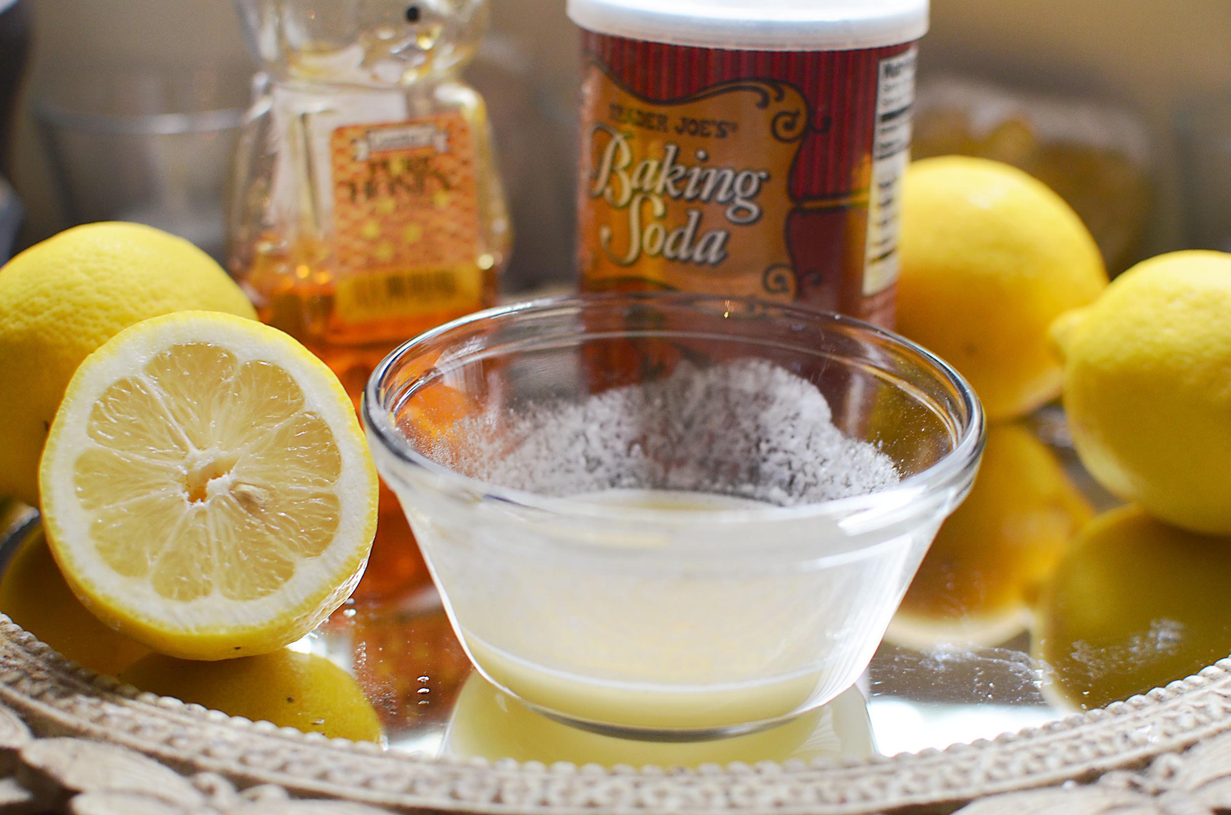 Лимон и сахар от волос на теле