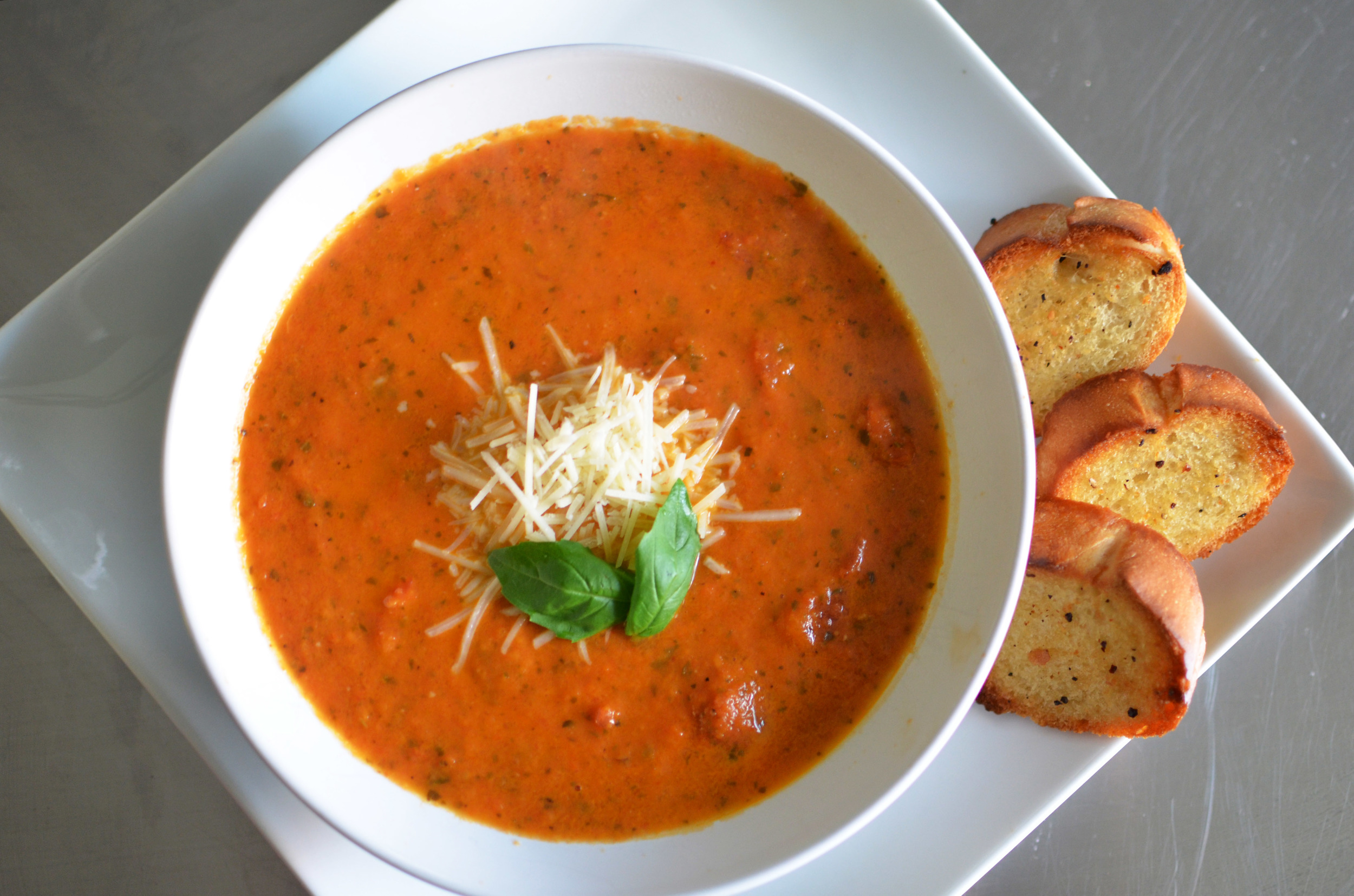 tomato-basil soup recipe (ina garten/chrissy teigen) — the glossier