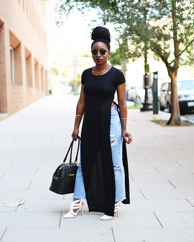 Tasha-James-The-Glossier-Fashion-Style-Beauty-Lifestyle-Blogger-DC-Arlington-Top-Streetstyle-Editorial-Chinatown-Shop-With-Chevy-Maxi-Shirt-Box-Braids-4