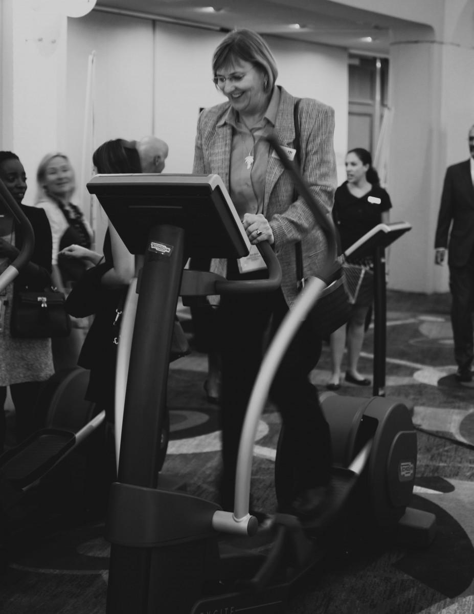 Tasha-James-The-Glossier-Blogger-DC-Arlington-Events-Bill-Clinton-Technogym-Alliance-For-A-Healthier-Generation-1