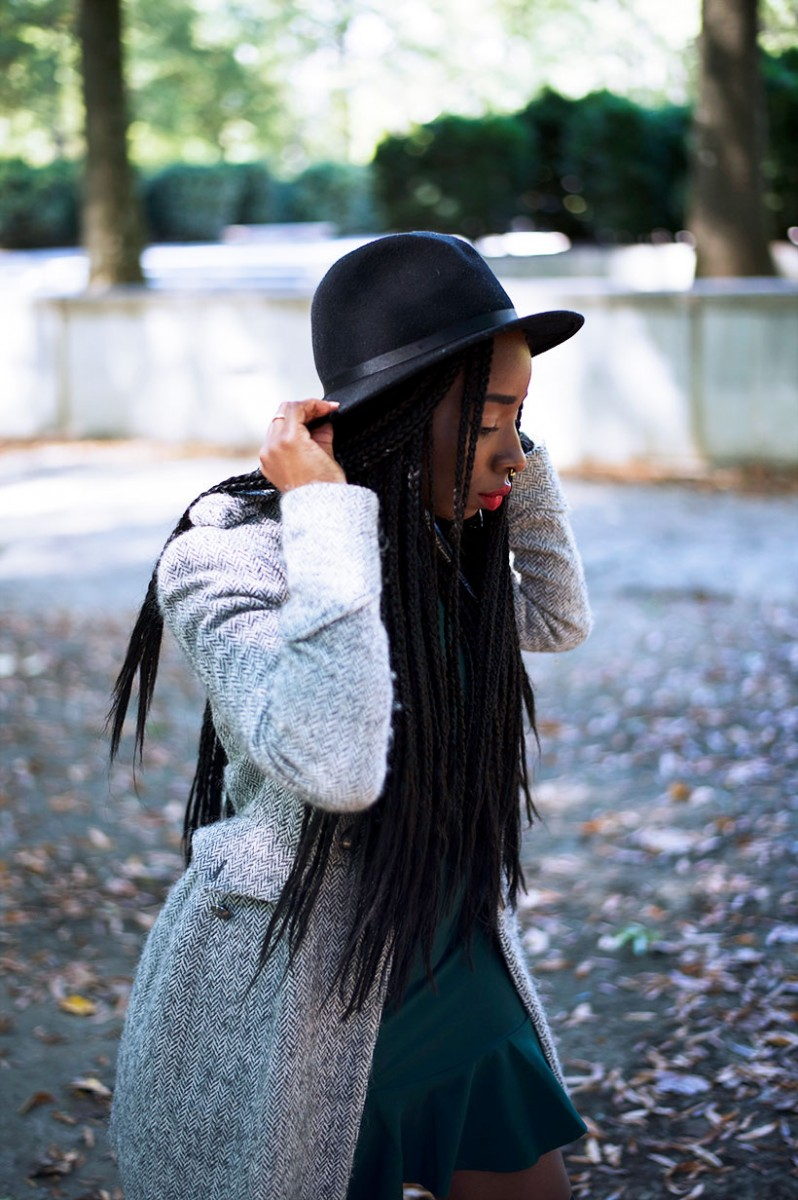 Tasha-James-The-Glossier-Fashion-Style-Beauty-Lifestyle-Blogger-DC-Arlington-Top-Streetstyle-Editorial-Box-Braids-Combat-Boots-Green-Dress-Asos-1